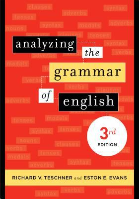 Analyzing the grammar of English